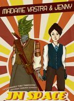 Madame Vastra and Jenny by Airveia