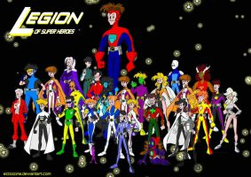 Legion of Super Heroes by Ectozone