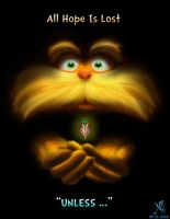 The Lorax ebook cover Version 4 - The Last Seed by RizoRex