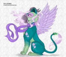 Vilena - The Gryphon by francis-john