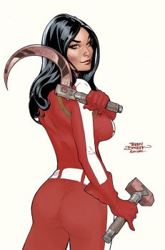 RED ONE #2 Cover by TerryDodson