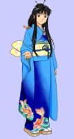 Tendo in Kimono by FluffyNabs