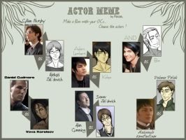 Actor Meme - BT Edition by Xandra-sama