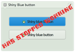 Shiny Blue button by CypherVisor