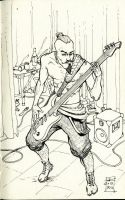 Bass player by black-griffel