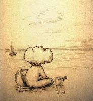 Beach Mouse 09 by masonmouse