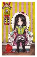 Alice in the dollhouse by pukedrawings