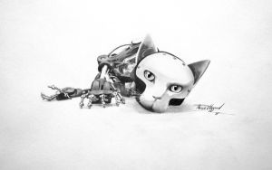 Robot kitten by Thessen