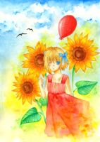 Red Balloon by Hachiyo