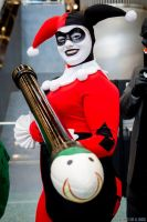 Harley Quinn and her bazooka by Lady-Ha-ha