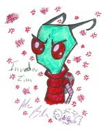 Invader Zim by Kittychan2005