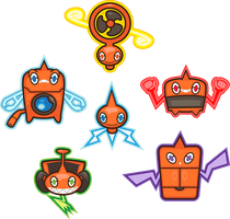 Rotom Motor Full Force by PiNkOpHiLiC