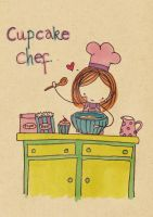 Cupcake Chef by Pinkie-Perfect