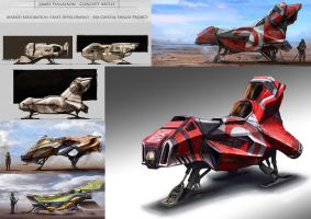 Final Project vehicle concepting by JamesFinlayson