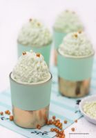 Mint White Chocolate Mousse by theresahelmer