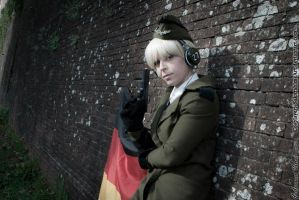 Hetalia fem Germany by SakurahimeArt