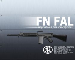 FN FAL by corax