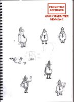 Animation character designs 4 by Guido37