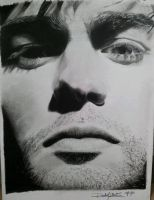 Practice Sketch Chace Crawford by rachellism