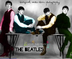 The beatles by michi-michi-chan