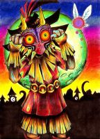 Majora's Mask by KatieAnnOwens