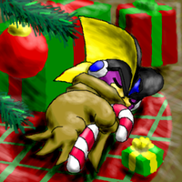 Christmas morning - PaintBBS by mew-at-heart