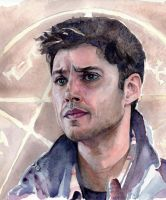 Dean in watercolor by Threnody2