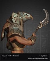 Horus by Lucky-Mishap