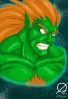 Blanka by Osmar-Shotgun
