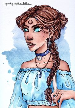 Katara by Spooky-Space-Babe
