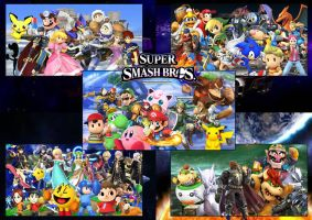 Super Smash Bros All Stars by SuperSaiyanCrash