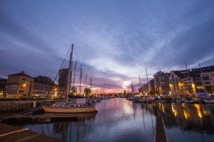 Ostend by night, Belgium. by JJ98Photography