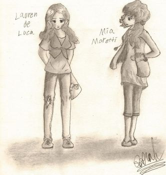 Lauren and Mia by Jewl242