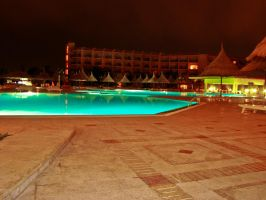 The pool of the hotel by SteffenHa