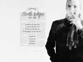 Heath Ledger wallpaper by AdrienneTyler