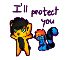 I'll protect you by blueberry-tail