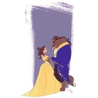 Beauty And The Beast by Orelly