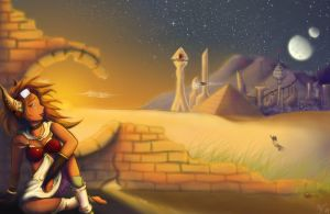 Looking to the Lost City by Sakiimi