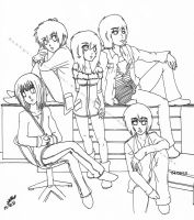 Some of the gang by Reezi