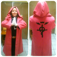 Edward Elric cosplay by fullmetalpipsquick