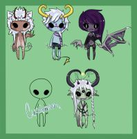 Little Monsters by MochaInk