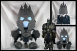 WoW Lich King plushie by eitanya