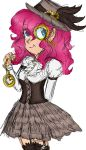 MLP: ''Steampunk Pinkie'' (sketch) by KikiRDCZ