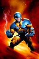 X-O #1 Cover by MooseBaumann