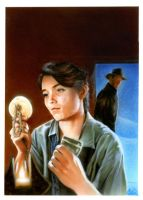 Marion Ravenwood by gattadonna
