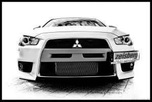 Mitsubishi Evo X MR - Highkey by Caliart