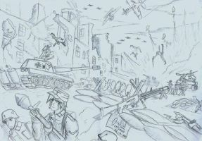 Battle of Berlin by PanzerElites
