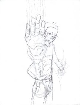 Early Sketch of Ian by ChaosMageD