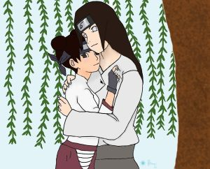 Neji and Tenten by Sillysammijo