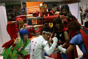 Marvel vs Capcom 3 Group 2 by chloebs